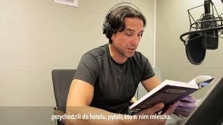 Marcin Dorociński czyta fragment książki