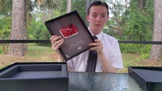 Youtube Silver Play Button Unboxing Review + Thank You