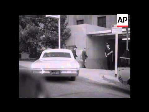 ASSASSINATION OF ROBERT KENNEDY - LOS ANGELES SCENES - NO SOUND