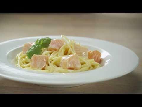 Laks med pasta
