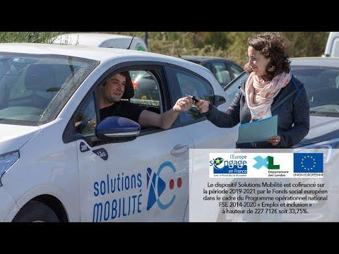 Solutions Mobilité à Tarnos : une plateforme qui agit pour l'insertion et l'emploi
