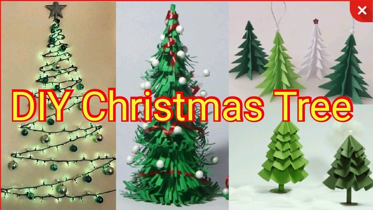 Diy Paper Christmas Tree Crafts 2018 How To Make Your Own Desk