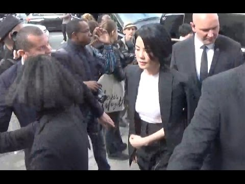 Faye WONG 王菲 @ Paris 2 october 2016 Fashion Week show Céline
