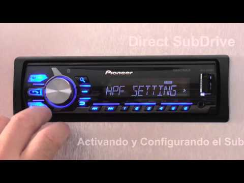 Direct SubDrive en MVH X375BT de Pioneer