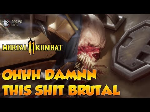 IM F*CKING TERRIBLE | Mortal Kombat 11 Beta