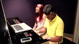 """@Dondria Singing, """"Kissed by The Sun"""" with @MikeKalombo"""
