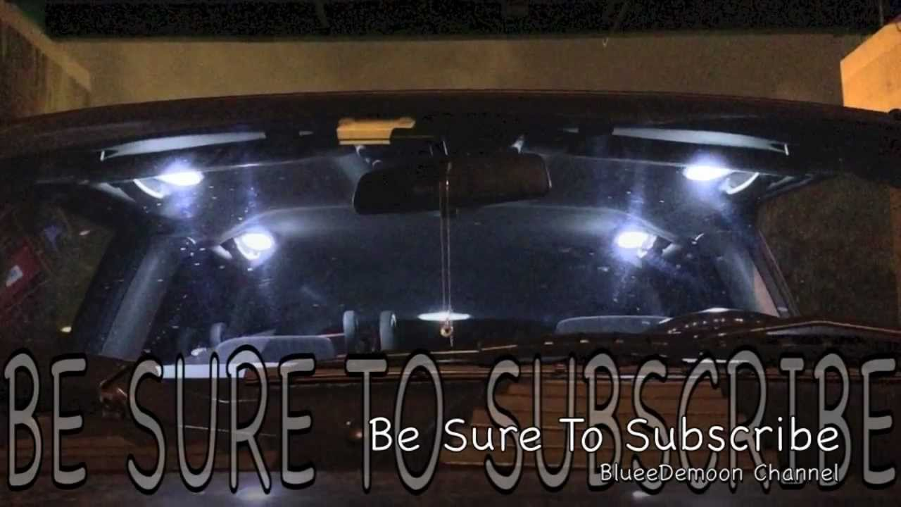 Chevy Trailblazer Internal Led Bulb Lights