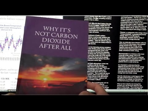 Climate Change - Why it's not carbon dioxide after all