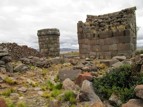 Ancient Megalithic Stone Towers In Peru