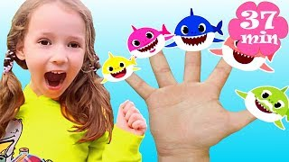 Baby Shark Finger Family song | + More Nursery Rhymes & Kids song by Ulya
