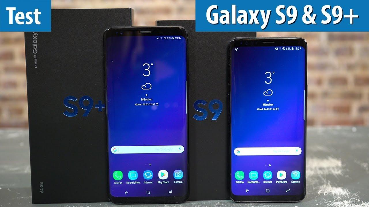 Samsung Galaxy S9 S9 Im Test Lohnen Sich Die Bis Zu 1050 Euro Fur Die Handys Youtube