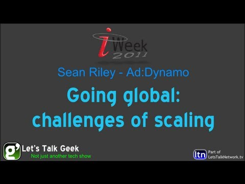 Going global: challenges of scaling - Sean Riley