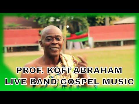 PROF. KOFI ABRAHAM SINGS AT PAAPA YANKSON'S FUNERAL