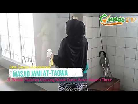 AKSI GEMAS di Masjid An-Nuur Margahayu Kencana dan Masjid Jami At-Taqwa