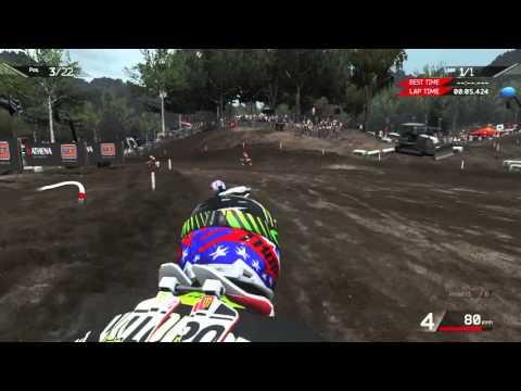Los fanáticos de los videojuegos y el motocross ya pueden correr en el circuito de La Angostura
