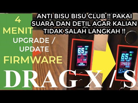 how to do firmware upgrade on voopoo drag