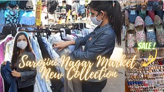 Sarojini Nagar Delhi MONDAY Market After LOCKDOWN | New OCTOBER Collection,Top,Jewellery,Jeans SALE!
