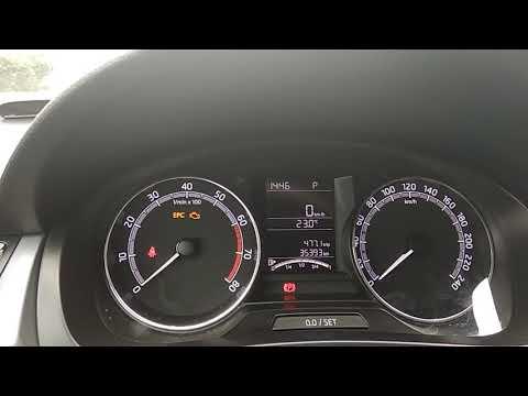 Skoda rapid сброс ошибки двигателя