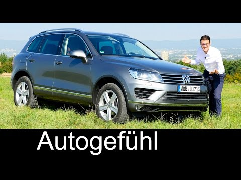 The most expensive Volkswagen: VW Touareg Exclusive & Execut