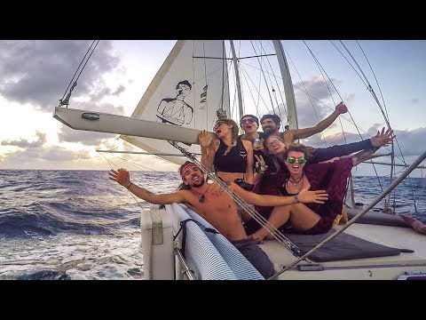 Six crew, 700 NM, and 1 ROLLY boat! Sailing Vessel Delos Ep.