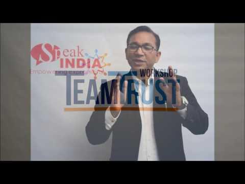 Team Trust Workshop by Roshan Suhail