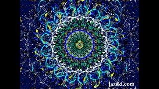 Digital Art: Blue Mandala