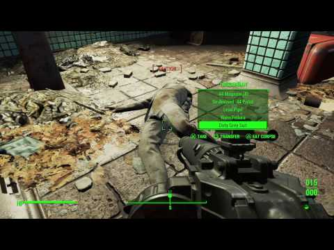 Fallout 4 immersive survival gameplay Part 10! Saving Nick Valentine (weather mod)