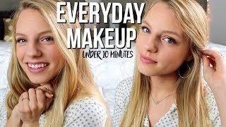 Everyday Makeup | Under 10 Minutes!