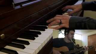 """White Winter Hymnal"" by Fleet Foxes - Piano and Guitar - COVER"