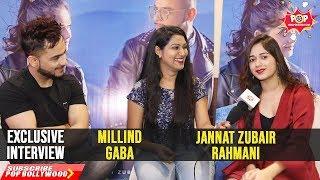 Jannat Zubair Rahmani & Millind Gaba Exclusive Interview Zindagi Di Paudi