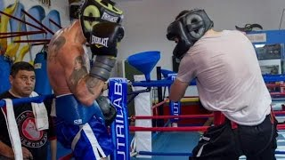 "Lucas Matthysse Sparring Jorge ""The Destroyer"" Melendez Ahead Of World Title Bout vs Viktor Postol"