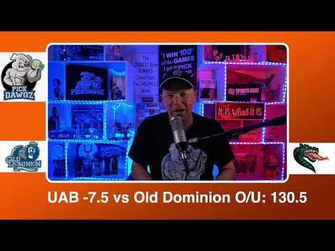 UAB vs Old Dominion 2/19/21 Free College Basketball Pick and Prediction CBB Betting Tips