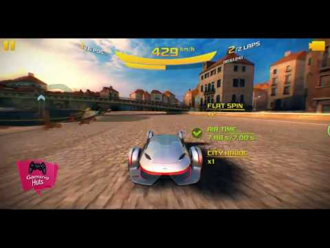 Asphalt 8 Mercedes-Benz Silver Lightning Venice Unplugged Gameplay 163