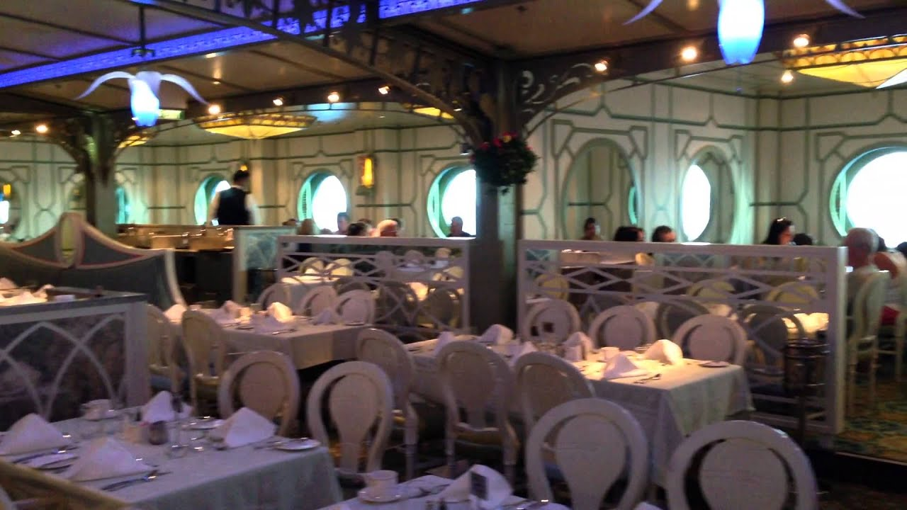 Disney Dream Enchanted Garden Buffet Lunch Part 36 Youtube