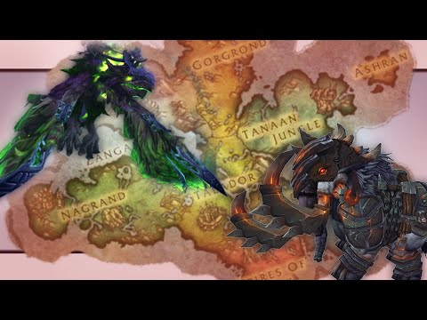 WoW Mount Farm World Tour — Warlords of Draenor