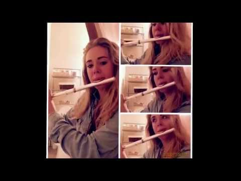 AdeleHello on flute