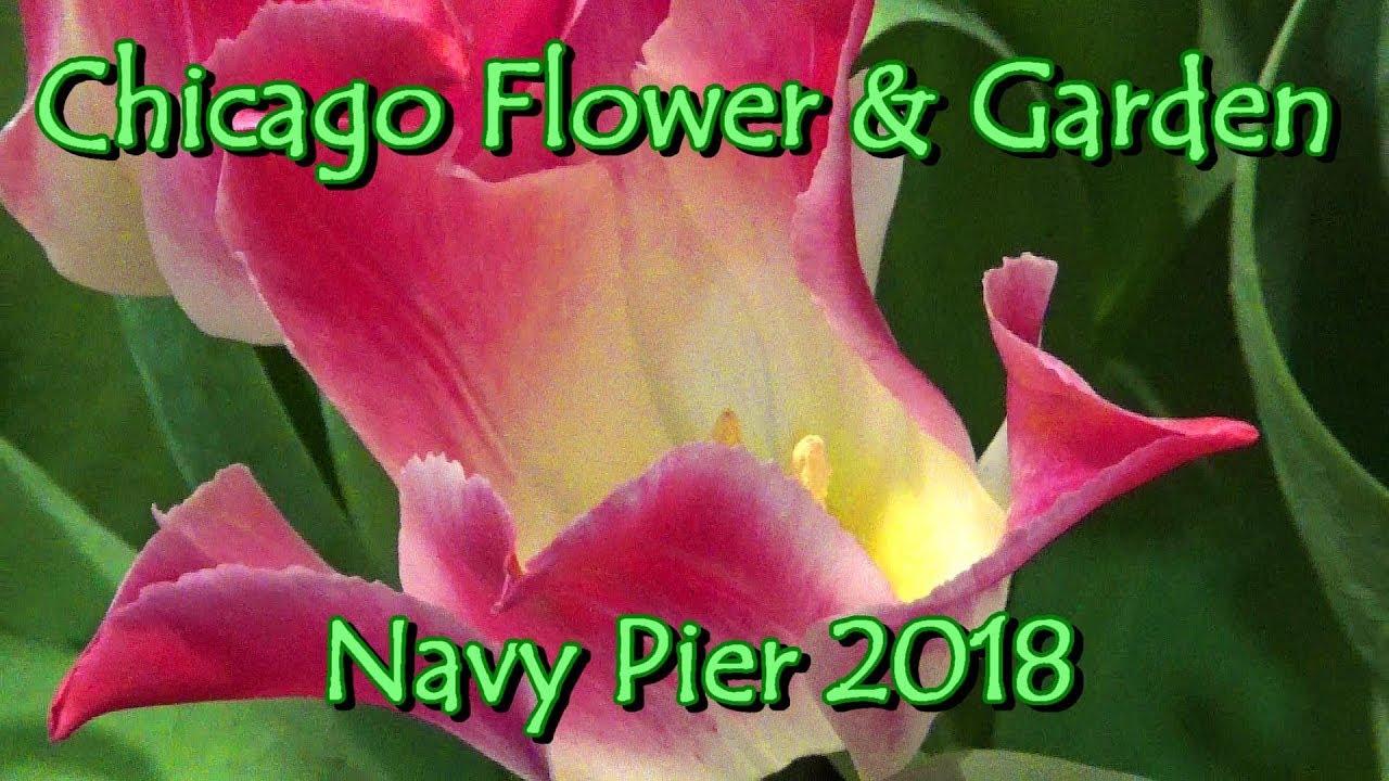 Chicago Flower Garden Spring Show Navy Pier 2018 Tablescapes