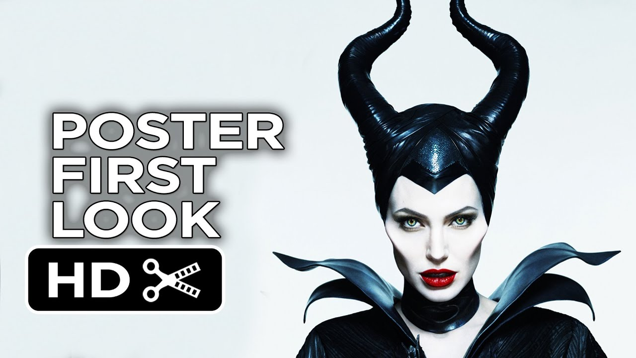 Maleficent New Poster 2014 Angelina Jolie Movie Hd