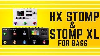 Line6 HX Stomp & Stomp XL For Bass