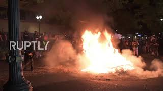 USA: Black Lives Matter protesters hit the streets of Portland