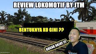 Gambar cover REVIEW LOKOMOTIF BY JTM KO BENTUKNYA GINI ??? TRAINZ SIMULATOR INDONESIA