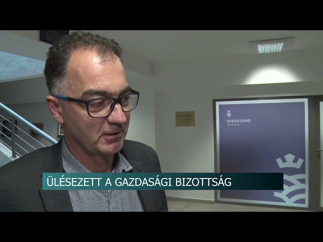 Szekszárdra tervezett kerékpárút - Gazdasági és Városfejlesztési Bizottság