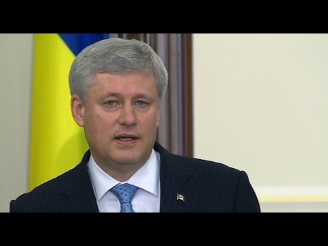 Stephen Harper in Ukraine