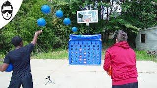 Connect 4 Basketball Edition!!! #BossTalks Ep.6 [Season 2]