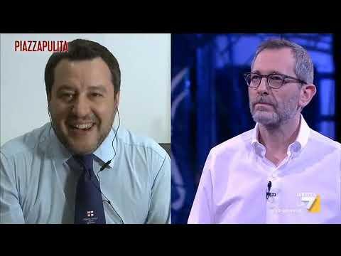 L'intervista di Corrado Formigli a Matteo Salvini