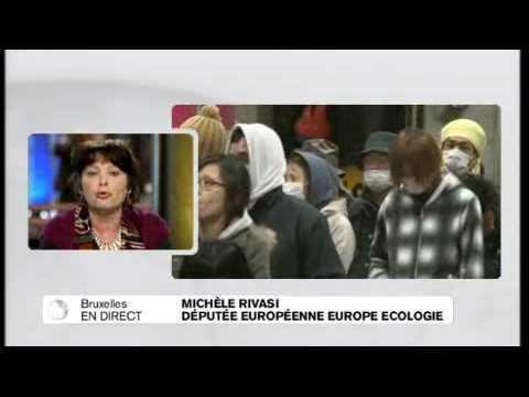 Crise nucléaire au Japon : Michèle Rivasi, député européenne Europe Ecologie critique Sarkozy