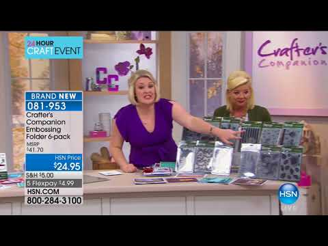 HSN | Crafter's Companion 10.03.2017 - 05 PM