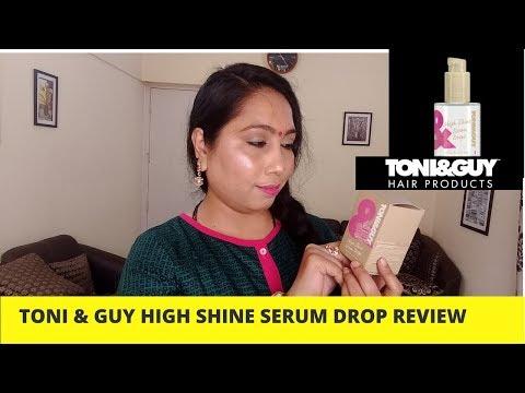 Toni & Guy High shine serum drop Review Toni & Guy hair Serum review  How to apply hair Serum