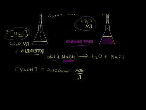 Введение в титрование (видео 1)| Титриметрический анализ | Химия