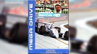Mega Drive Mania - 045 - Newman Haas Indycar feat Nigel Mansell (Sega Mega Drive / Genesis)